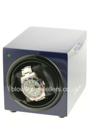 Barrington Watch Winder - Blue