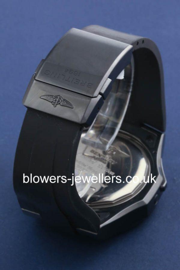 Black steel Breitling Bentley GMT Midnight Carbon Ref: M47362