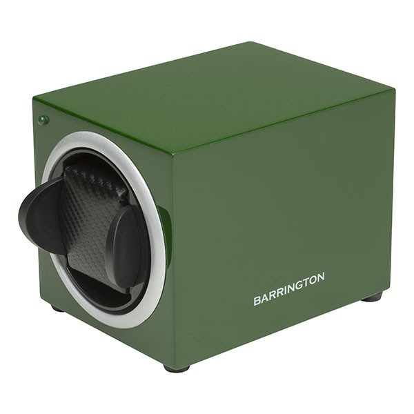 Single Watch Winder Racing Green