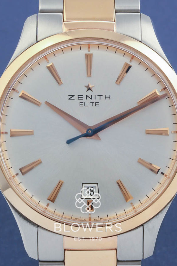Bi Metal Zenith Elite Captain Central Second Ref:51.2020.670/01.M2020
