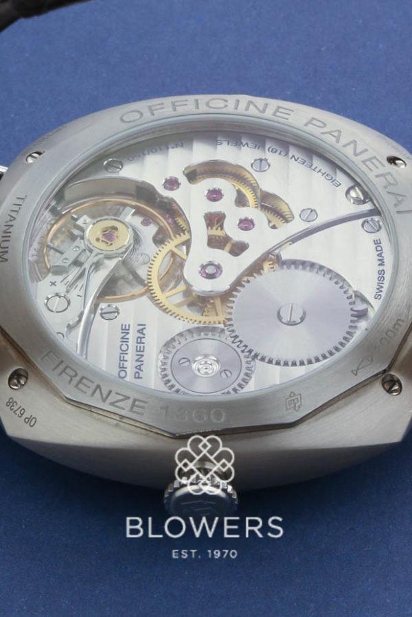 Titanium Panerai Radiomir PAM 00322 Limited edition of 150 pieces