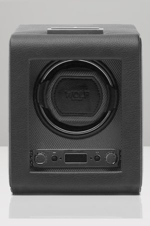 Wolf Viceroy Watch Winder in Black