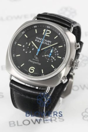 Panerai Radiomir Regatta PAM 343 One Eight Second Titanio