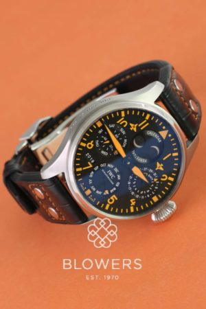 IWC The Big Pilot's Watch Perpetual Calendar, Limited Edition of 250. Ref: IW502618