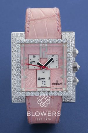 18ct White Gold Ladies Corum