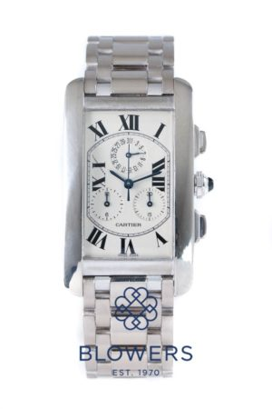 Cartier Tank Americaine Chronograph W26033L1