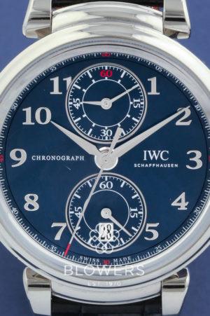 "IWC Da Vinci Chronograph ""Laureus Sport for Good Foundation"" Ref: IW3934-02"