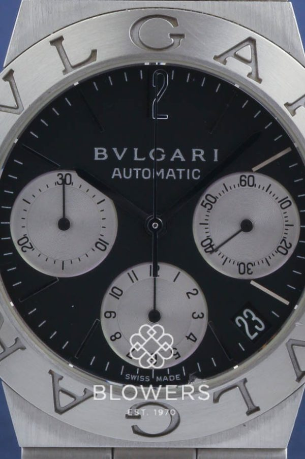 Bulgari Diagono Chronograph Automatic Stainless Steel Watch CH35S