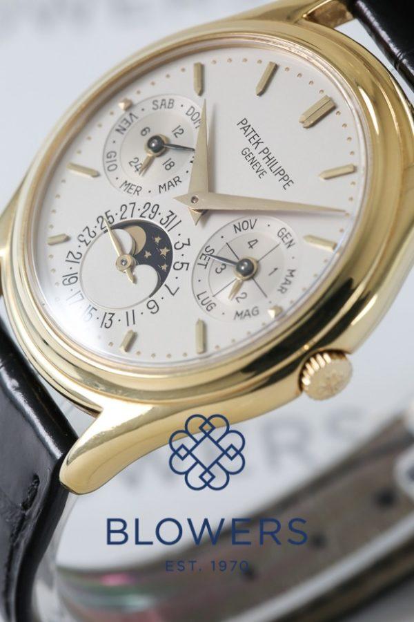 18ct Yellow Gold Patek Philippe Perpetual Calendar 3940J