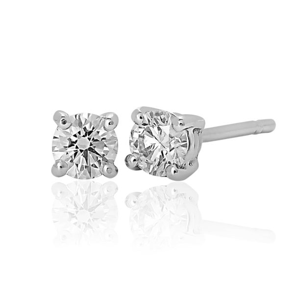 Brilliant Cut Earrings 0.32cts