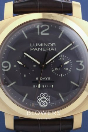 18ct Rose Gold Panerai Radiomir 3 Days Oro Rosa PAM00319