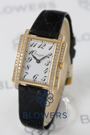 18ct yellow gold Patek Philippe Gondolo 4825