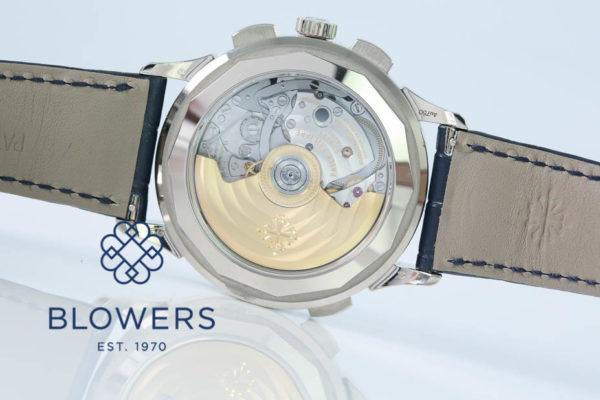 18ct White Gold Patek Philippe World Time Chronograph Ref: 5930G-001
