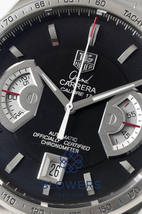 Steel Tag Heuer Grand Carrera CAV511G