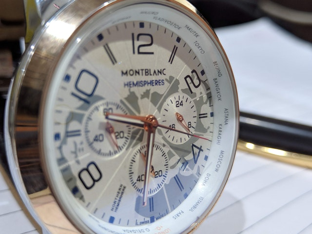 montblanc watch history