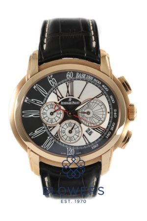18ct Pink Gold Audemars Piguet Millenary Chronograph 26145OR.OO.D093.CR.01