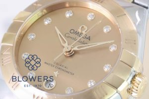 Omega Constellation Manhattan Co-Axial 131.20.29.20.58.001