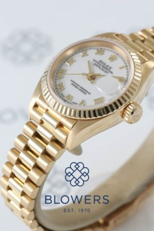 Rolex Ladies 18ct Yellow Gold Oyster Perpetual Datejust 69178