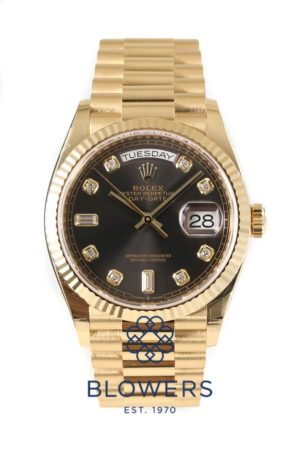 Rolex 18ct Yellow Gold Oyster Perpetual Day-Date 128238.