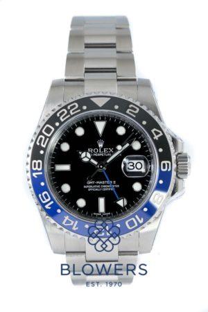 Rolex GMT-Master II model reference 116710BLNR