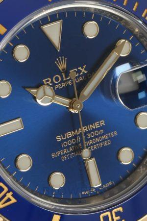 Rolex Bi-Metal Submariner Date 116613LB