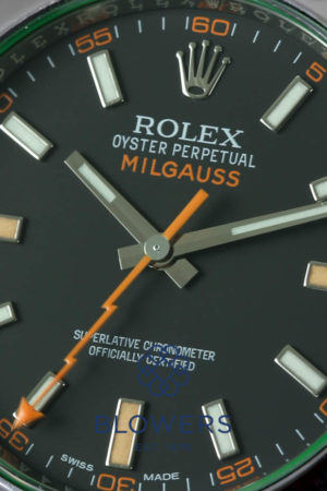 Rolex Oyster Perpetual Milgauss Anniversary Edition 116400GV