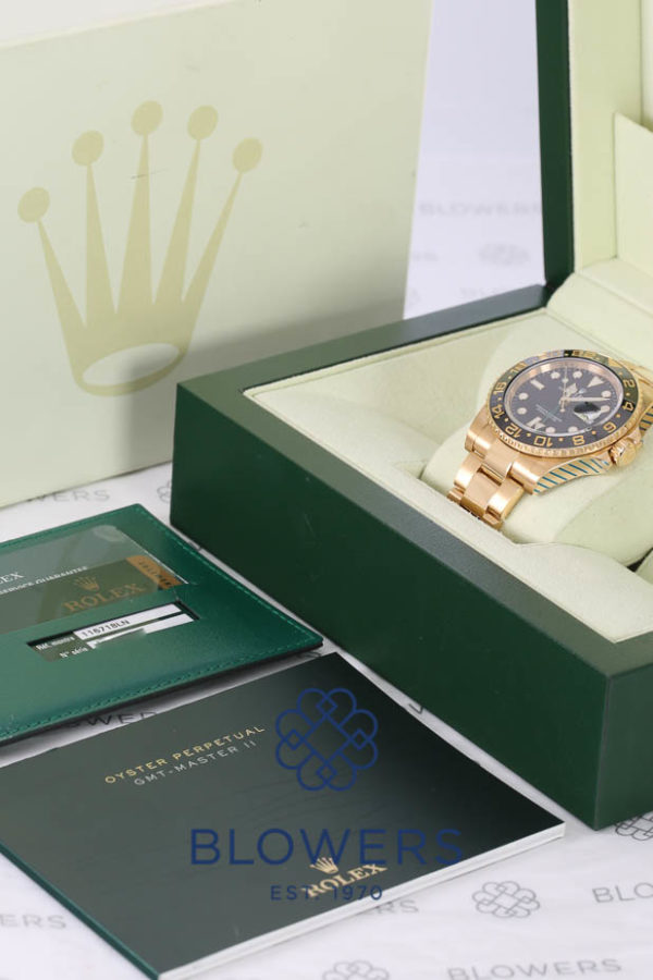 Rolex Oyster Perpetual GMT-Master II 116718LN