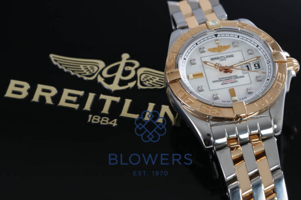 Breitling Cockpit bi-metal Gents C49350
