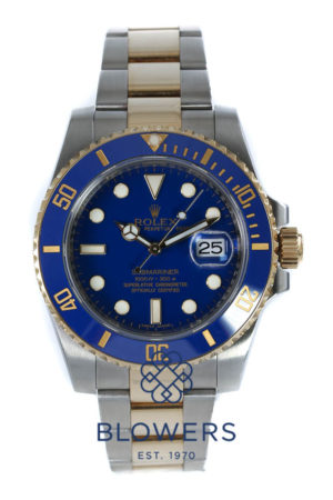 Rolex Bi-Metal Submariner Date 116613LB